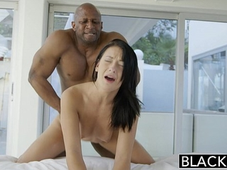 BLACKED Teen beauty attempts Interracial anal bang-out